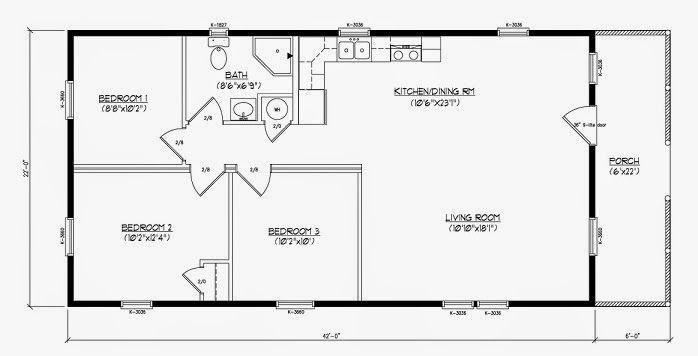 62 best images about modular cabin floor plans interior - Planos de cabanas de madera ...