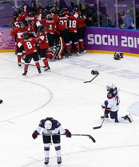 USA v Canada: men's ice hockey semi-final at Sochi 2014 Winter Olympics: live - Telegraph