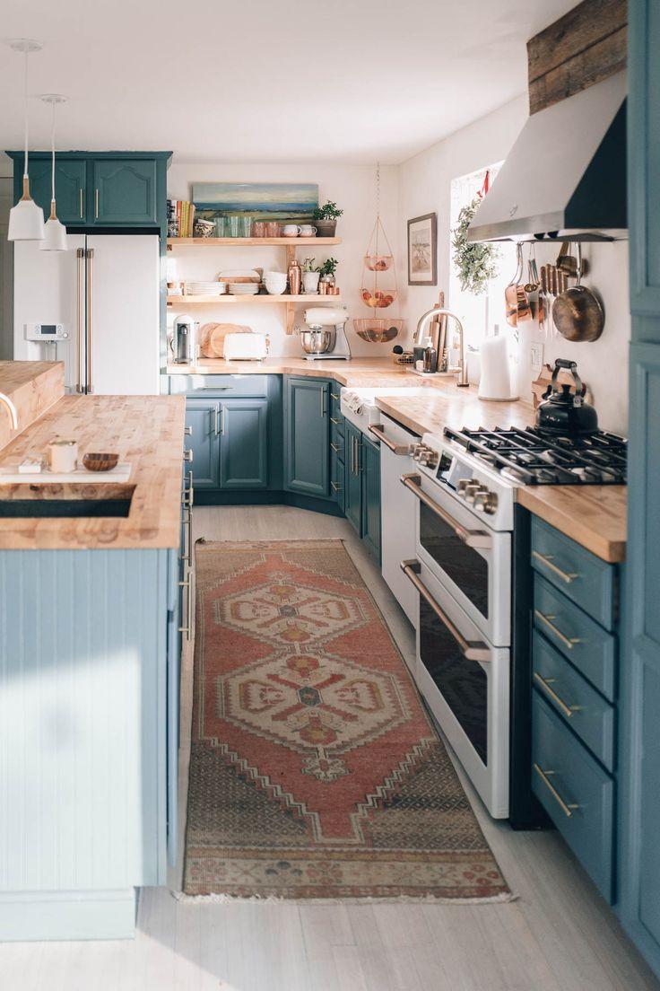 Best Jess Ann Kirby Decorates Her Kitchen With A Vintage Runner 400 x 300