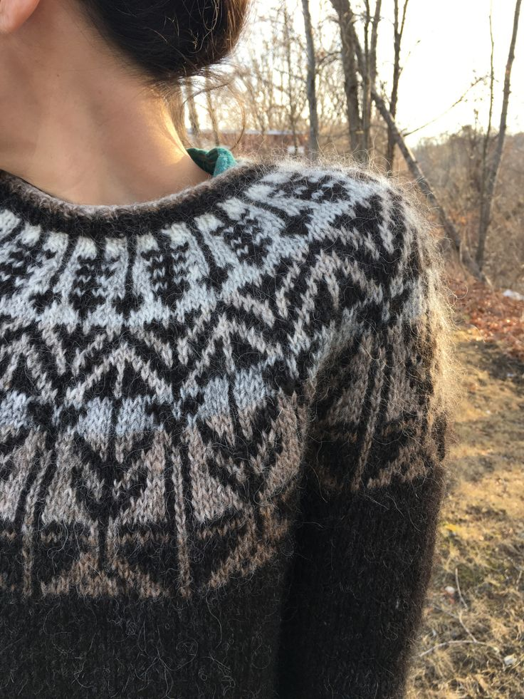 We're getting ready to start our first knit-along of 2018, and this time our focus is on the seamless colorwork sweater knitting patterns from Iceland!