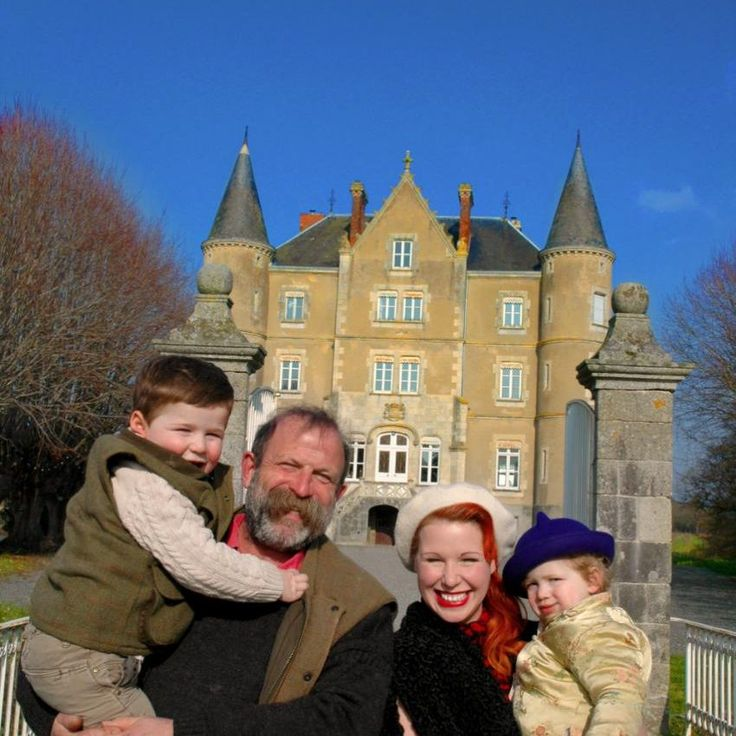 Dick Strawbridge and family