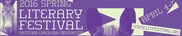 2016 Spring Literary Festival at Western Carolina University. Lee Smith, Rick Bragg, Bret Anthony Johnston, Robert Gipe, Jane Hicks, Judith Ortiz Cofer, Major Jackson, Denton Loving, Darnell Arnoult, Lauren K. Alleyn and Rick Bragg.