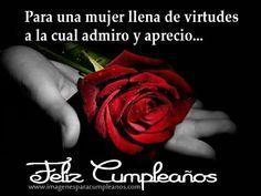 Flores con Bonitos Mensajes de Cumpleaños - ツ Imagenes y Tarjetas para Felicitar en Cumpleaños ツ