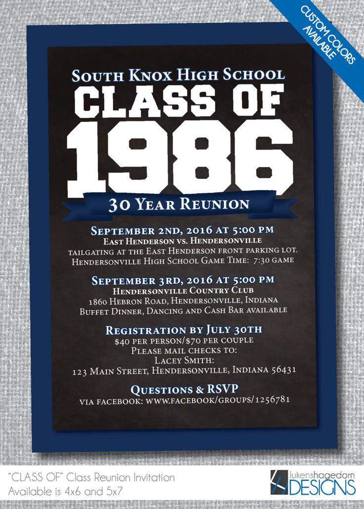 Best 25+ Class reunion invitations ideas on Pinterest | Reunion ...