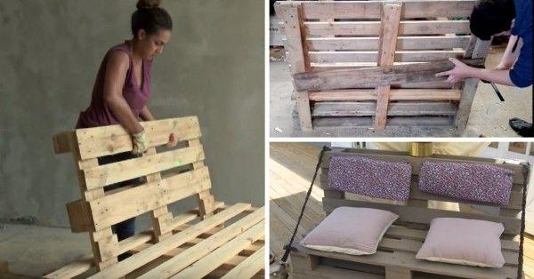 eight Tutos Vidéos pour Fabriquer un Canapé en Palette (+ BONUS DÉCO)