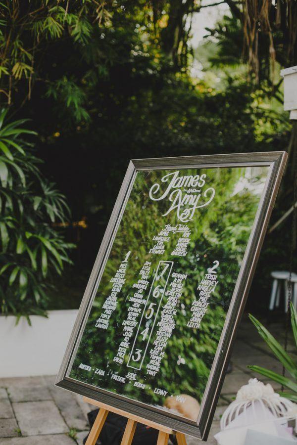 Tropical Wonderland Wedding at The White Rabbit in Singapore