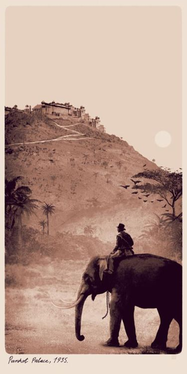 Indiana Jones and the Temple of Doom Poster - Matt Ferguson