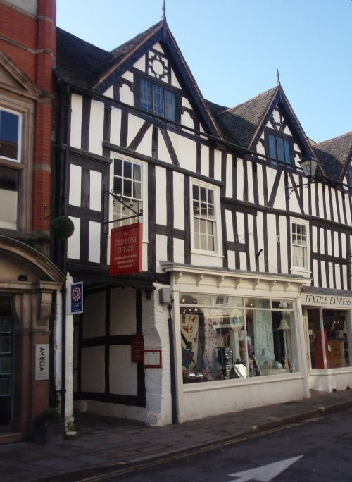 The Old Post Office Inn on Milk St, Shrewsbury