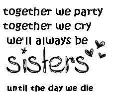 Sisters/Best friends
