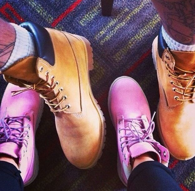 Timbs for him and her