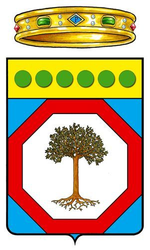 Puglia - Heraldry of the World, Stemma, arms, crest