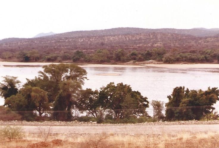 Limpopo River (Zim on other side) - SADF Security Corridor 1984