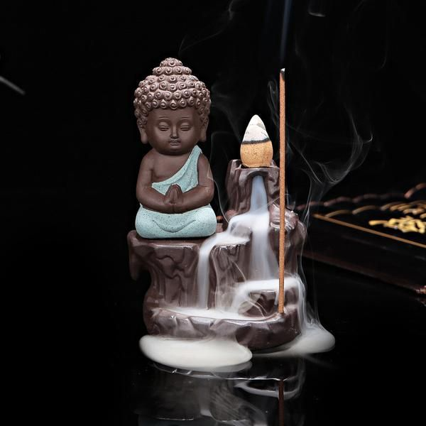 Alex maybe  Incense Cones can be purchased At This Link Purchase the incense cones together with the incense burner to save on shipping. When an incense cone is lit in the