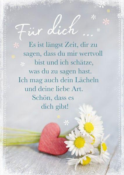 Postkarte Lieber Gruss Aufmunternde Spruche