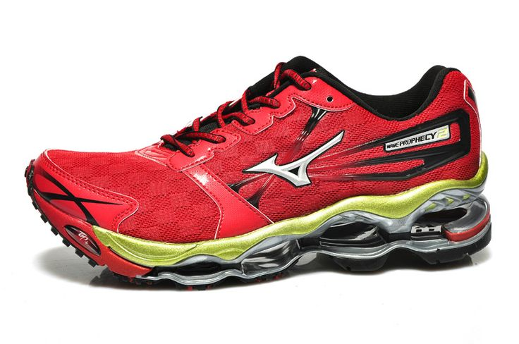 Mizuno Wave Prophecy 2 Red Mens Shoes