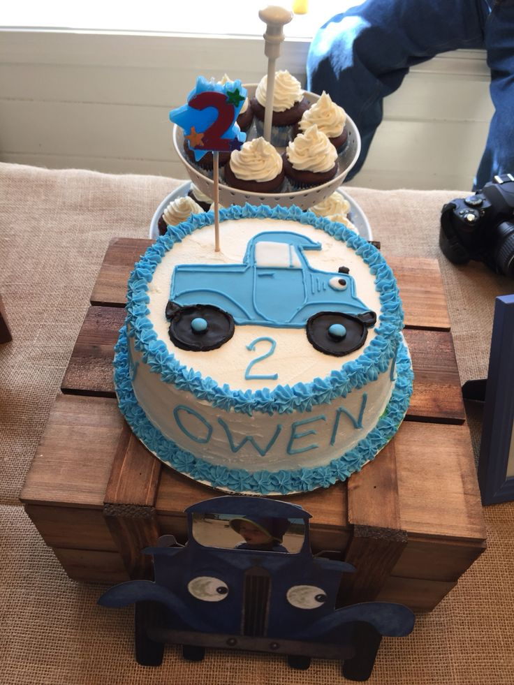 454 best 1st Birthday images on Pinterest Little blue trucks