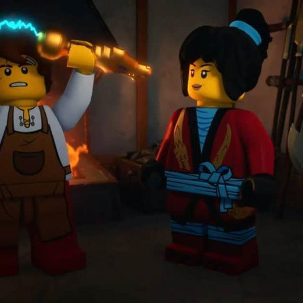 LEGO Ninjago Season 10 Kai and Nya    LEGO Ninjago Season 10