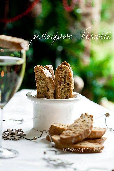 Lemon biscotti with pistachios  recipe