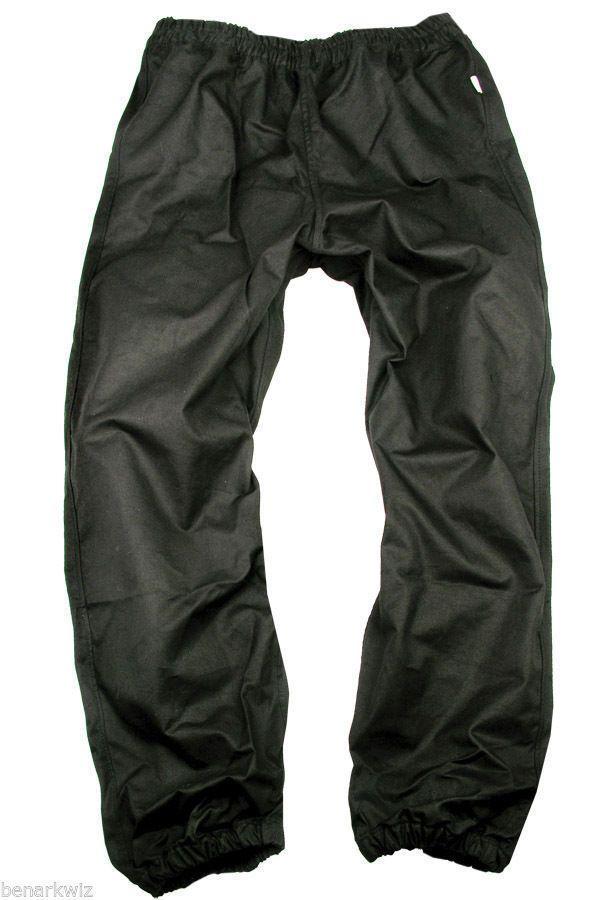 Mens Kakadu Work Horse Pants - BLack - oilskin over pant #KakaduAustralia #Overalls
