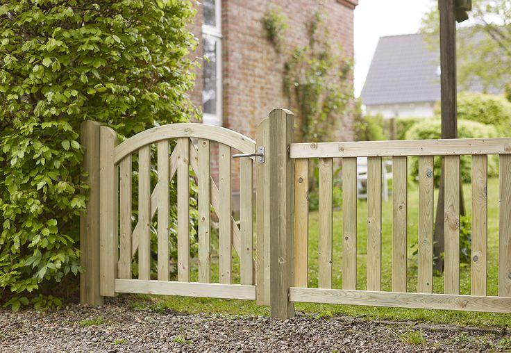 Et enkelt og klassisk hegn til din have, som frit kan males efter eget ønske.