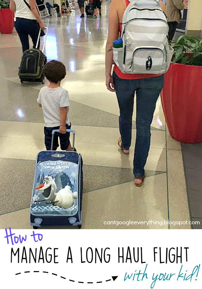How To: Manage a Long Haul Flight with Your Kid! - My Mini Adventurer