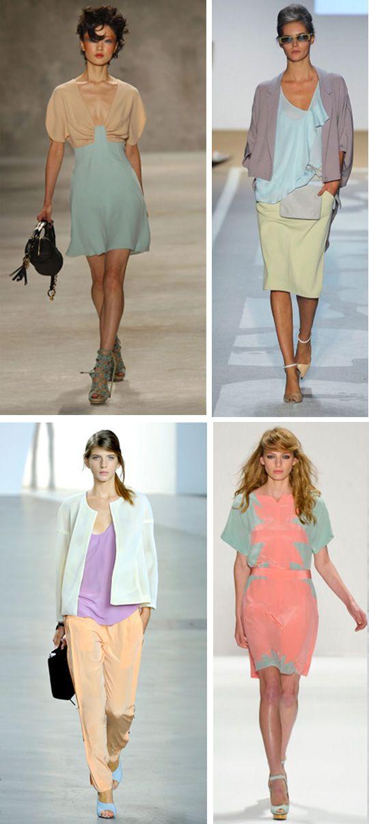 Как сочетать пастельные тона в одежде: формируем нежный летний гардероб