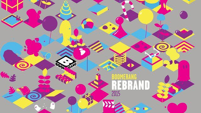 So playful! Love it  Art&Graft have designed and developed the Global Rebrand for Cartoon Network's channel - Boomerang.