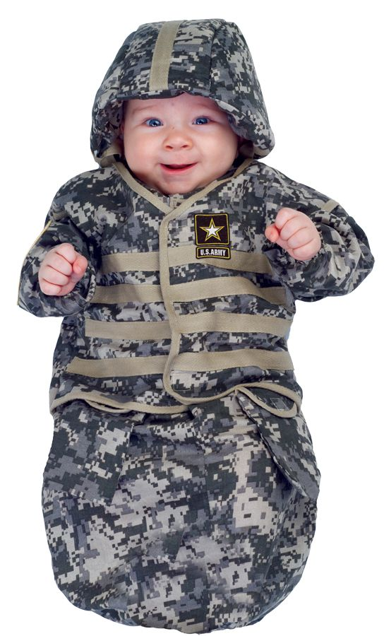 When the time comes I am SO getting this!  US Army Baby Costume