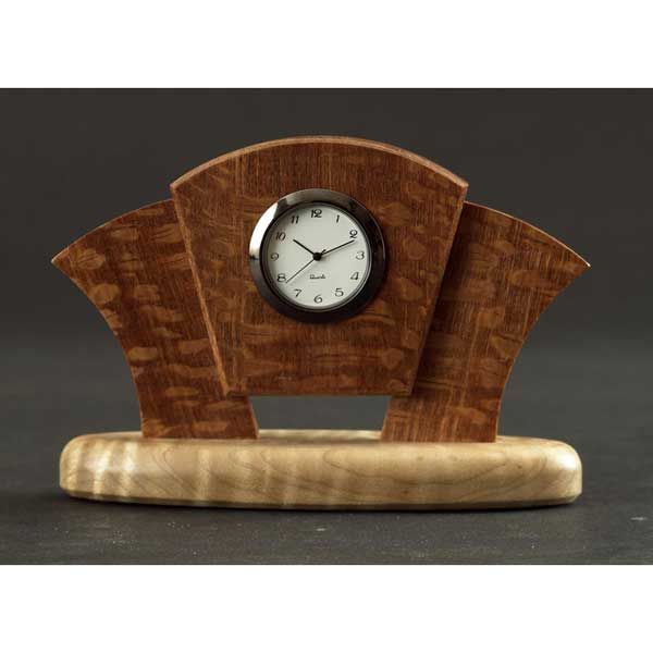 Art Deco Desk Clock Woodworking Plan From WOOD Magazine