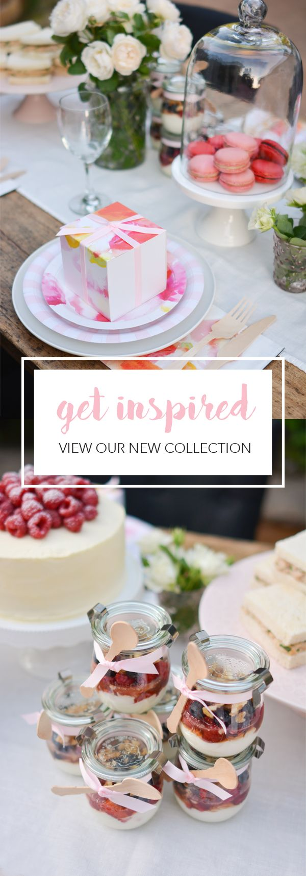 Floral  Garden Party | Mothers Day Brunch | Summer Parties | Modern Pink Floral Birthday | Girls Baby Shower | Chic Bridal Shower | Papereskimo.com