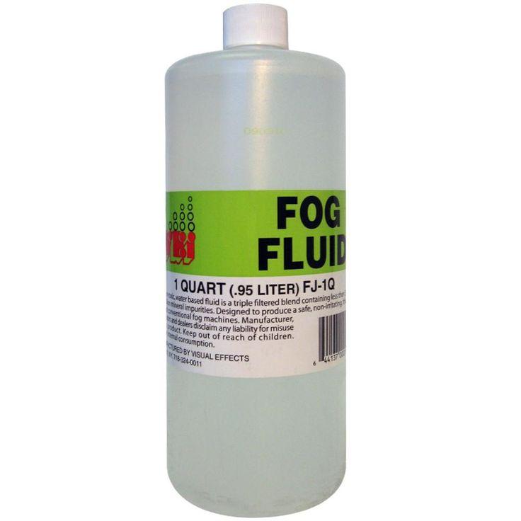 VISUAL Effects 1 Quart Water Base Fog Fluid
