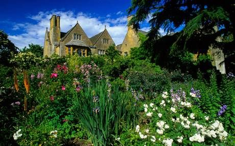 The Cotswold Way, from Chipping Campden, England (pictured) in the northern extremes, stretches some 100 miles south.