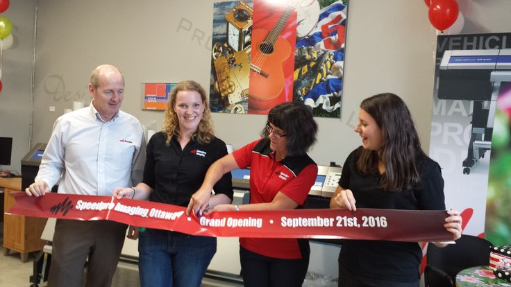 Congratulations to Speedpro Imaging Ottawa on their successful Grand Opening Event!