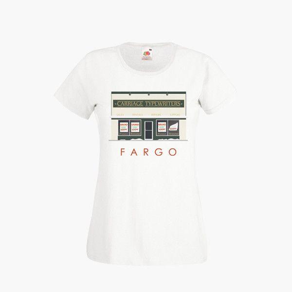 Fargo Season 2 Hank Lou Carriage Typewriters T SHIRT Womens Girls S-2X – Kituout Store