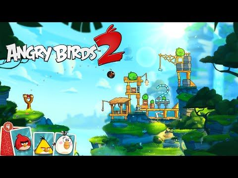 Angry Birds 2 - Official Gameplay Trailer #angrybirds #angrybirds2 #gaming #videogames #geek #trailer