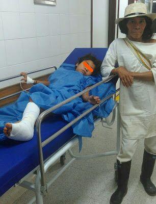 Se salvó Wiwa mordido por serpiente - Hoy es Noticia