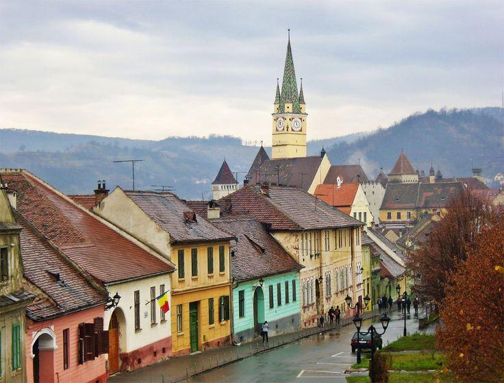 Medias, Sibiu County, Romania.