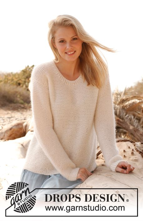 Knitting Jumpers For Elephants Fake : Free pattern knitted drops jumper in garter st