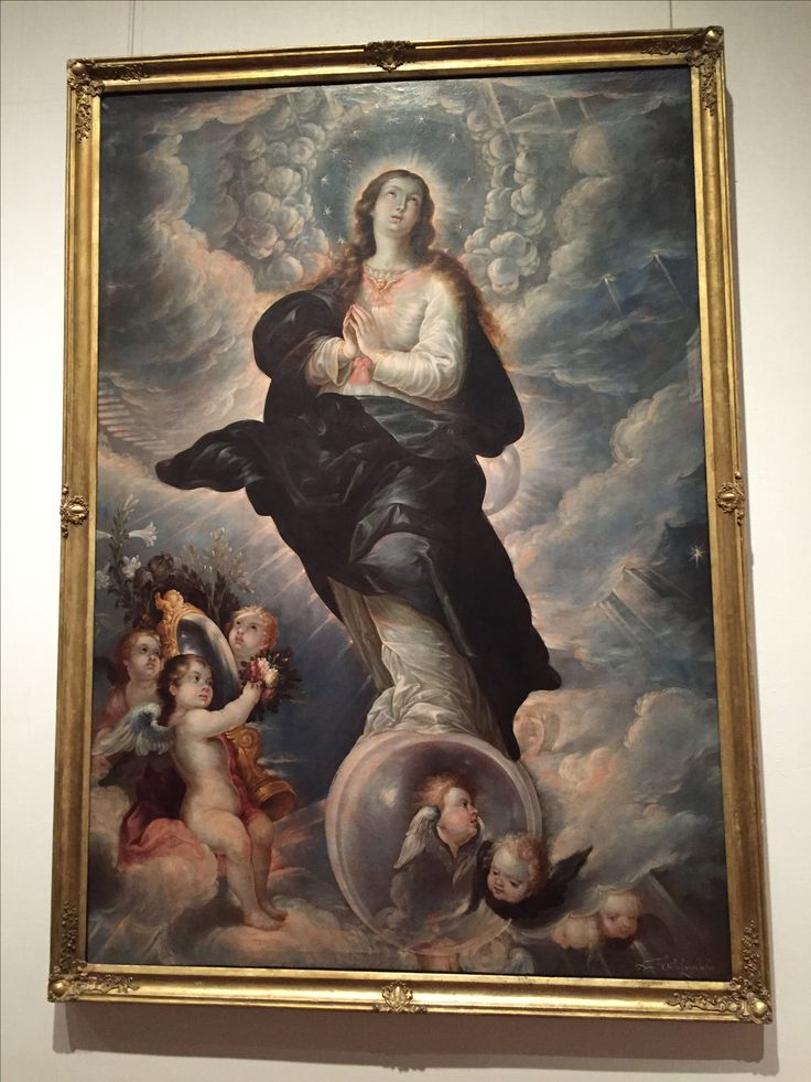 "Cristóbal de Villalpando, ""The Immaculate Conception,"" ca. 1680-89, Metropolitan Museum of Art"