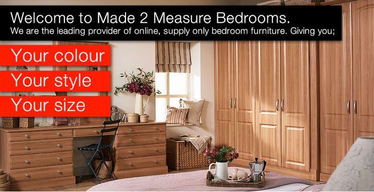 Diy Bedroom Furniture, self assembly, supply only bedrooms ...