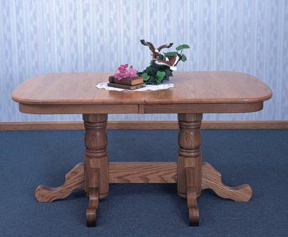 17 best images about amish trestle table on pinterest pedestal pedestal dining table and. Black Bedroom Furniture Sets. Home Design Ideas