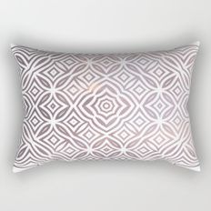 Ethnic pattern geometric Rectangular Pillow