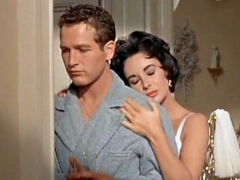 1958   Elizabeth Taylor U0026 Paul Newman   Cat On A Hot Tin Roof