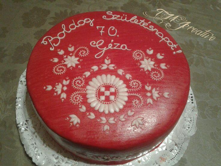 #TMJcreative #birthdaycake #hungarianflk