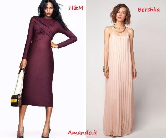 Long dress By #H e #Bershka    http://www.amando.it/moda/abbigliamento/abiti-lunghi-low-cost.html