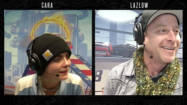 🔴 We are LIVE right now with CARA DELEVINGNE x LAZLOW  Playing GTA Online Cunning Stunts Special Vehicle Races & lots more!   At  http://twitch.tv/rockstargames  https://www.youtube.com/watch?v=dfSJyKM9RyA #ElectronicsStore