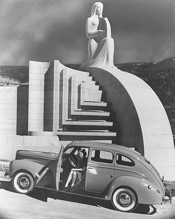 The Muse of Music, Hollywood Bowl, 1941.