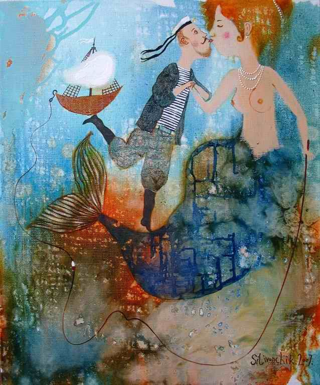 Anna Silivonchik, The Water Nymph's Kiss (2007)