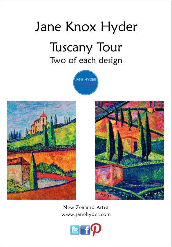 Tuscany Tours Twin Pack Jane Knox Hyder www.thumbnailmedia.com