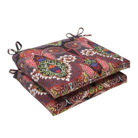 Pillow Perfect Marapi Multicolored Floral Seat Pad For Universal 50286